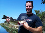 Thomas Adams Fishing in the everglades with Neal and Jake Stark